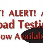 Road Testing Now Available